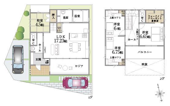モデルハウスプラン図